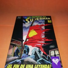 Cómics: LA MUERTE DE SUPERMAN. EL FIN DE UNA LEYENDA . RETAPADO. EDICIONES ZINCO.. Lote 178878458