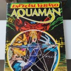 Comics: TEBEO CÓMIC AQUAMAN DC ESPACIAL VERANO ED. ZINCO. Lote 179004628