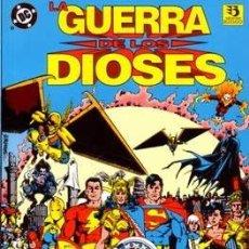 Cómics: LA GUERRA DE LOS DIOSES - ED. ZINCO - 1993 WONDER WOMAN Y UNIVERSO DC - GEORGE PEREZ CYNTHIA MARTIN. Lote 179067983