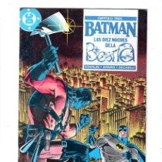 Cómics: BATMAN. EDICONES ZINCO. DC. Nº 25.. Lote 179140513