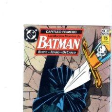 Cómics: BATMAN. EDICONES ZINCO. DC. Nº 33.. Lote 179140702