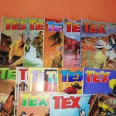 Cómics: TEX . COLECCION COMPLETA. 13 NUMEROS 1983. BUEN ESTADO.. Lote 179141427