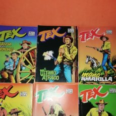 Cómics: TEX. COMPLETA . 6 NUMEROS . SEGUNDA SERIE. EDICIONES ZINCO 1988. BUEN ESTADO.. Lote 179141588