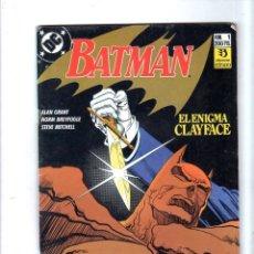 Cómics: BATMAN. EDICONES ZINCO. DC. Nº 1.. Lote 179142827