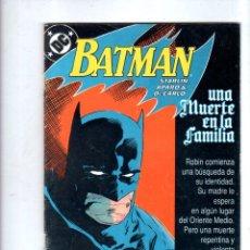 Cómics: BATMAN. EDICONES ZINCO. DC. Nº 1.. Lote 179142952
