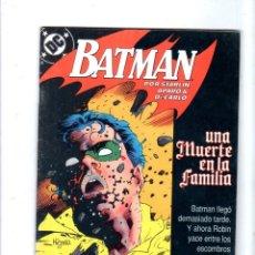 Cómics: BATMAN. EDICONES ZINCO. DC. Nº 3.. Lote 179143257
