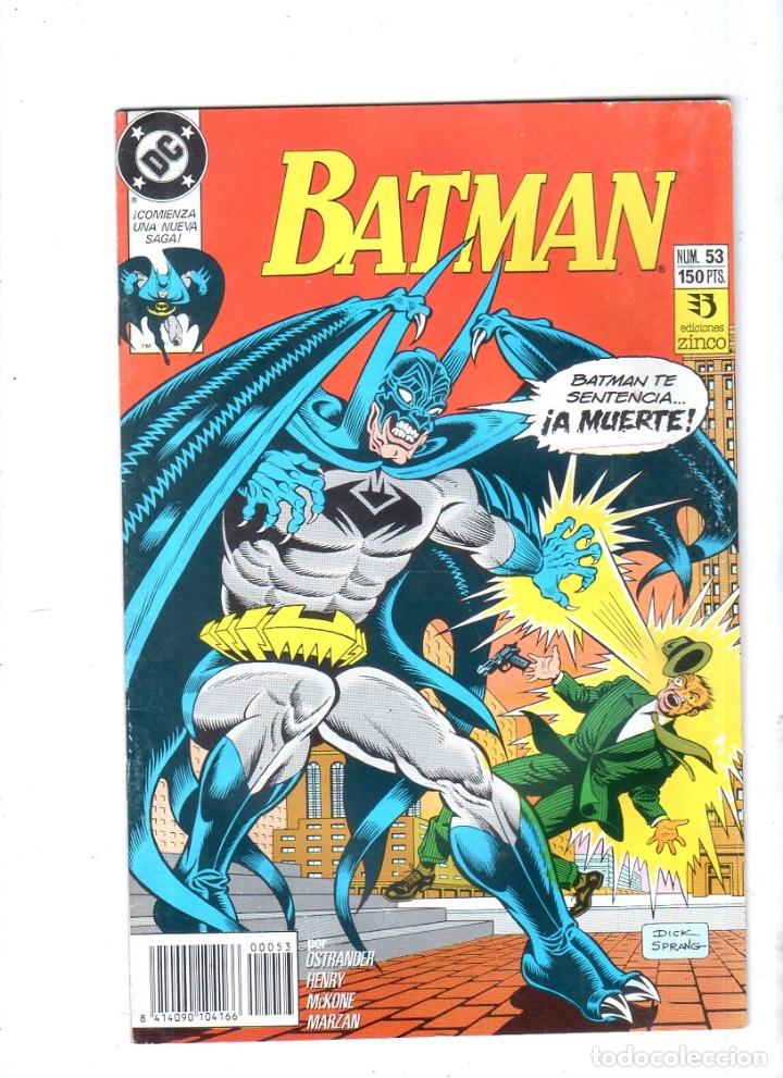 BATMAN. EDICONES ZINCO. DC. Nº 53. (Tebeos y Comics - Zinco - Batman)