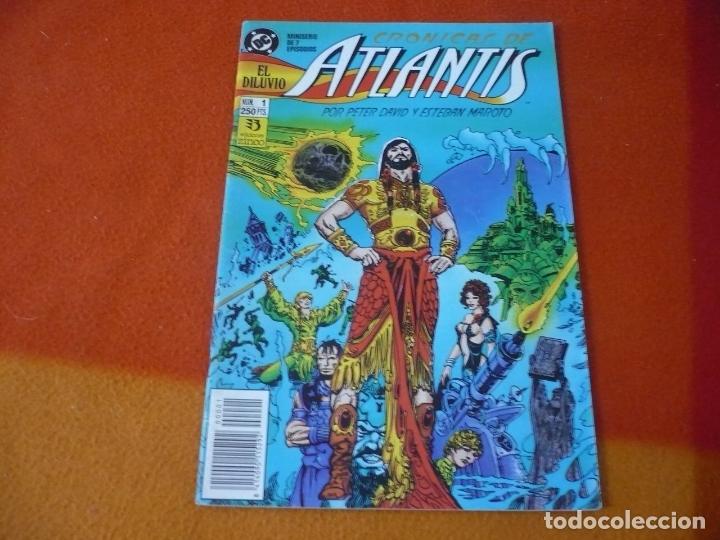 CRONICAS DE ATLANTIS Nº 1 ( PETER DAVID ESTEBAN MAROTO ) ¡BUEN ESTADO! ZINCO (Tebeos y Comics - Zinco - Otros)
