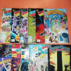 Cómics: WONDER WOMAN. GEORGE PEREZ. GRAPA . EDICIONES ZINCO . Nº 1,2,3,4,5,6,7,9,10,11,12 Y 13. BUEN ESTADO.. Lote 179226201