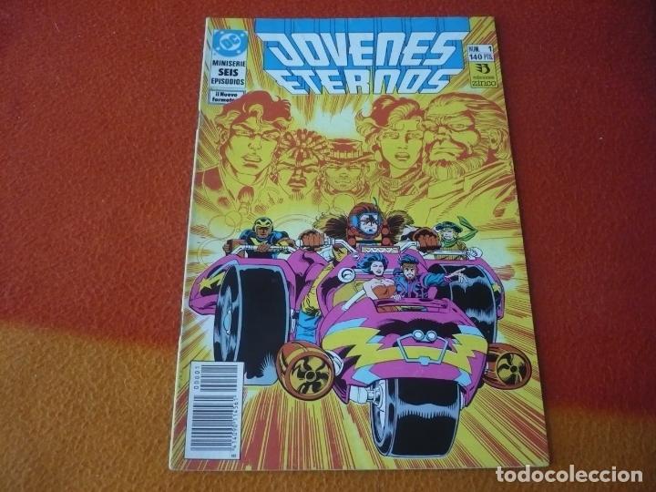 JOVENES ETERNOS Nº 1 ( DEMATTEIS ) ¡BUEN ESTADO! DC ZINCO (Tebeos y Comics - Zinco - Otros)