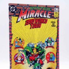 Cómics: MISTER MIRACLE 1. 1990 WORLD TOUR (KEITH GIFFEN / LEN WEIN) ZINCO, 1990. OFRT. Lote 223669765