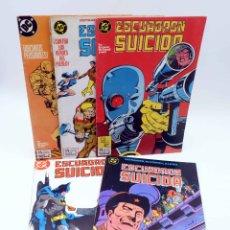 Comics: ESCUADRÓN SUICIDA 1 2 3 4 5 (OSTRANDER / MCDONNELL / LEWIS) ZINCO, 1988. OFRT. Lote 196241741