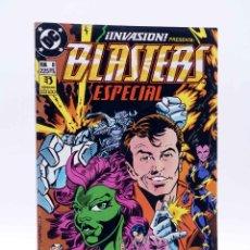 Cómics: INVASIÓN 8. BLASTERS SPECIAL (PETER DAVID / JAMES FRY) ZINCO, 1990. OFRT. Lote 179307363