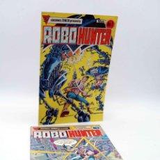 Cómics: ROBO HUNTER 1 Y 2. SAM SLADE CAZADOR DE ROBOTS (JOHN WAGNER / IAN GIBSON) ZINCO, 1984. OFRT. Lote 179307433