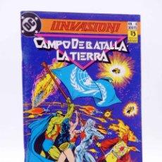 Comics : INVASIÓN 4. CAMPO DE BATALLA LA TIERRA (GIFFEN / MCFARLANE) ZINCO, 1990. OFRT. Lote 208323546