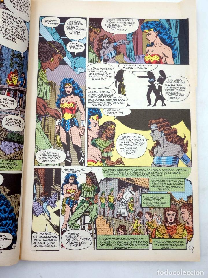 Cómics: WONDER WOMAN. LA MUJER MARAVILLA. RETAPADO 6, NÚMEROS 26 A 30 (George Pérez) Zinco, 1988. OFRT - Foto 9 - 238135240