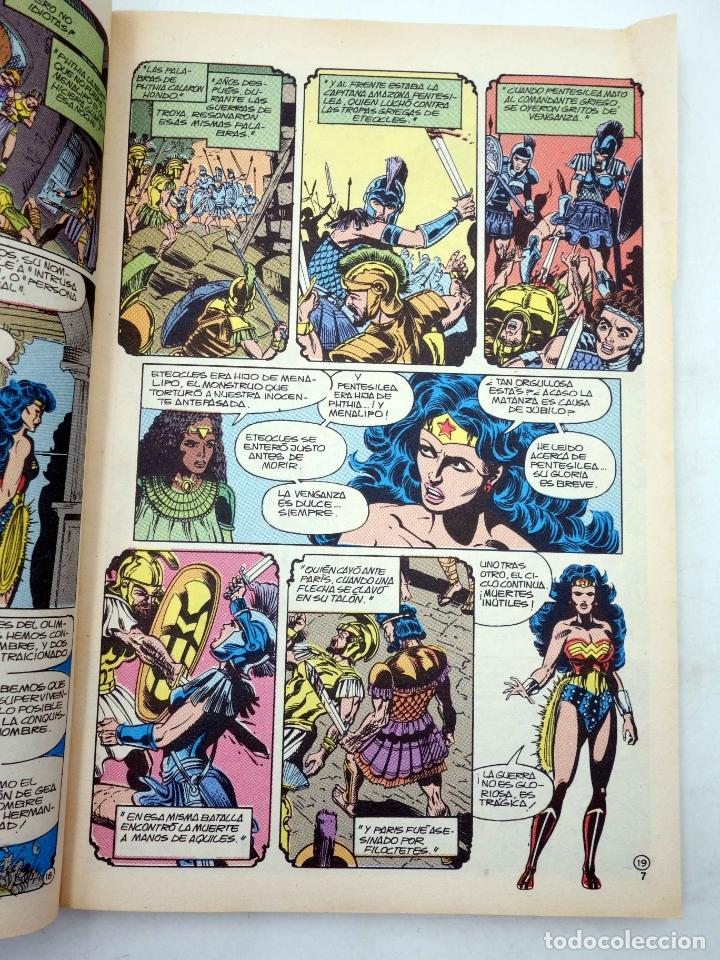Cómics: WONDER WOMAN. LA MUJER MARAVILLA. RETAPADO 6, NÚMEROS 26 A 30 (George Pérez) Zinco, 1988. OFRT - Foto 10 - 238135240