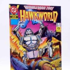 Cómics: ARMAGEDDON 2001 6. HAWKWORLD (OSTRANDER / KWAPISZ) ZINCO, 1987. OFRT. Lote 179308863