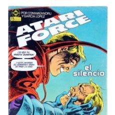 Cómics: ATARI FORCE 13. EL SILENCIO (CONWAY / ANDRU / GARCÍA LÓPEZ) ZINCO, 1984. OFRT. Lote 179308878