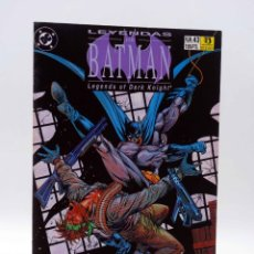 Cómics: LEYENDAS DE BATMAN 43. TERRITORIO 2 (GRANT / MCMANUS) ZINCO, 1993. Lote 179308883