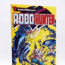 Cómics: ROBO HUNTER 1 2 3 4 5 COMPLETA. EN TOMO RETAPADO (JOHN WAGNER / IAN GIBSON) ZINCO, 1984. OFRT. Lote 179308888