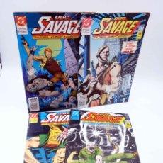 Cómics: DOC SAVAGE 1 2 3 4. MINISERIE COMPLETA (O'NEIL / KUBERT / KUBERT) ZINCO, 1990. Lote 179308903