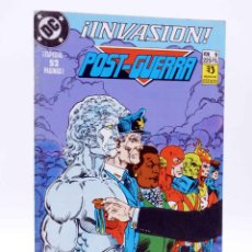 Cómics: INVASIÓN 6. POST GUERRA (BATES / WEISMAN) ZINCO, 1990. OFRT. Lote 179308906
