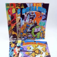 Cómics: OMEGA MEN. LOTE NºS 1 A 7 (SLIFER / GIFFEN / KIRBY) ZINCO, 1984. + NEW GODS. OFRT. Lote 179308908