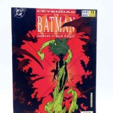 Cómics: LEYENDAS DE BATMAN 41. INVERNADERO / HOT HOUSE 2 (FRANCIS MOORE / CRAIG RUSSELL) ZINCO, 1993. Lote 179308921