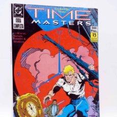 Cómics: TIME MASTERS LOS AMOS DEL TIEMPO RETAPADO 1 A 8. COMPLETA (WAYNE / SHINER / THIBERT) ZINCO, 1990. Lote 179308936