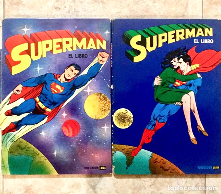 LOTE SUPERMAN EL LIBRO - TOMO 1 Y 2 - LAIDA (Tebeos y Comics - Zinco - Superman)
