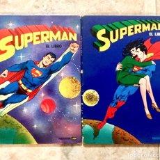Cómics: LOTE SUPERMAN EL LIBRO - TOMO 1 Y 2 - COMIC LAIDA MARVEL. Lote 179331510
