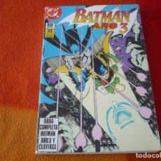 Cómics: BATMAN AÑO 3 + CLAYFACE COMPLETA RETAPADO ( WOLFMAN ) ¡BUEN ESTADO! DC ZINCO. Lote 179796227