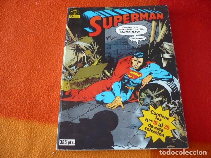 SUPERMAN NºS 16 AL 20 RETAPADO 4 ( SWAN BARRETO) ¡BUEN ESTADO! DC ZINCO (Tebeos y Comics - Zinco - Superman)