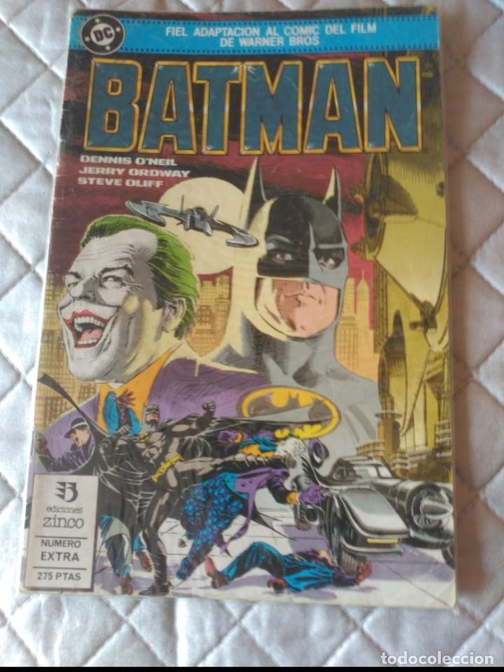 BATMAN ADAPTACIÓN DE LA PELÍCULA 1989 ZINCO (Tebeos y Comics - Zinco - Batman)