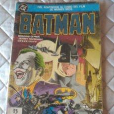 Cómics: BATMAN ADAPTACIÓN DE LA PELÍCULA 1989 ZINCO. Lote 219320413
