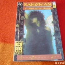 Cómics: SANDMAN NºS 1 AL 4 RETAPADO 1 ( GAIMAN ) ¡BUEN ESTADO! DC ZINCO. Lote 180051751
