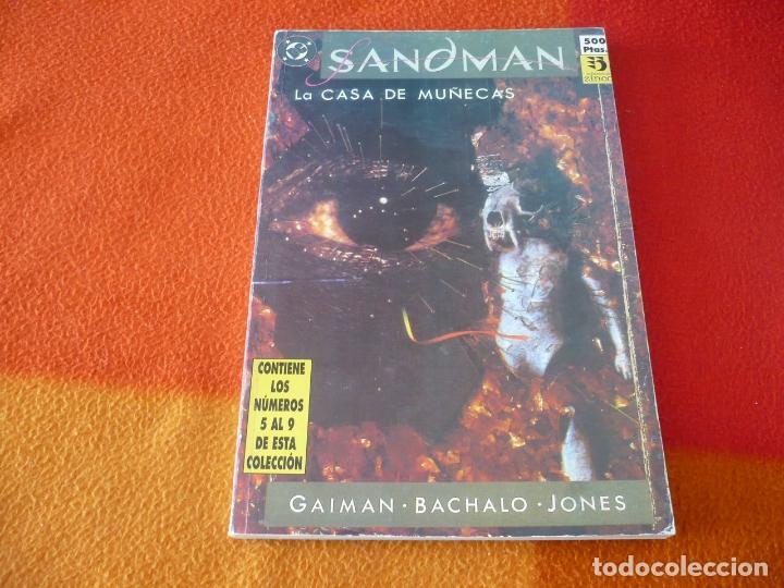 SANDMAN NºS 5 AL 9 RETAPADO 2 ( GAIMAN ) ¡BUEN ESTADO! DC ZINCO LA CASA DE MUÑECAS (Tebeos y Comics - Zinco - Retapados)