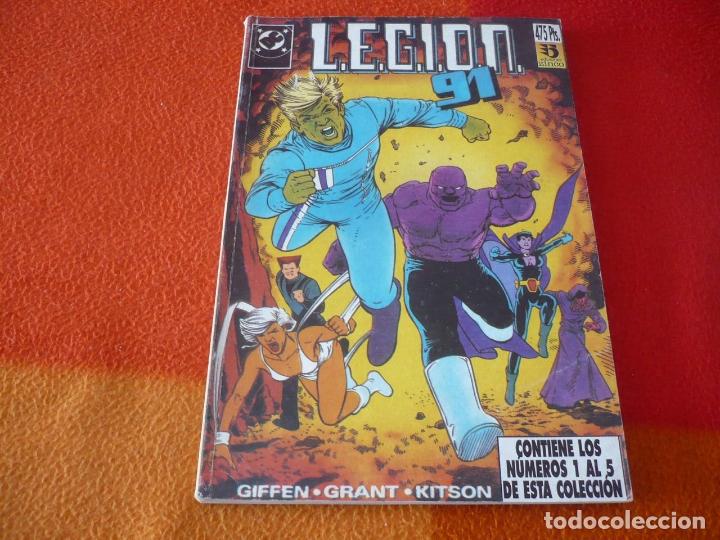 LEGION 91 NºS 1 AL 5 RETAPADO 1 ( GIFFEN GRANT KITSON ) ¡BUEN ESTADO! DC ZINCO (Tebeos y Comics - Zinco - Retapados)