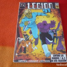 Cómics: LEGION 91 NºS 1 AL 5 RETAPADO 1 ( GIFFEN GRANT KITSON ) ¡BUEN ESTADO! DC ZINCO . Lote 180070725