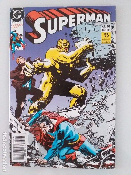 SUPERMAN EDICIONES ZINCO. NÚMERO 91 (Tebeos y Comics - Zinco - Superman)