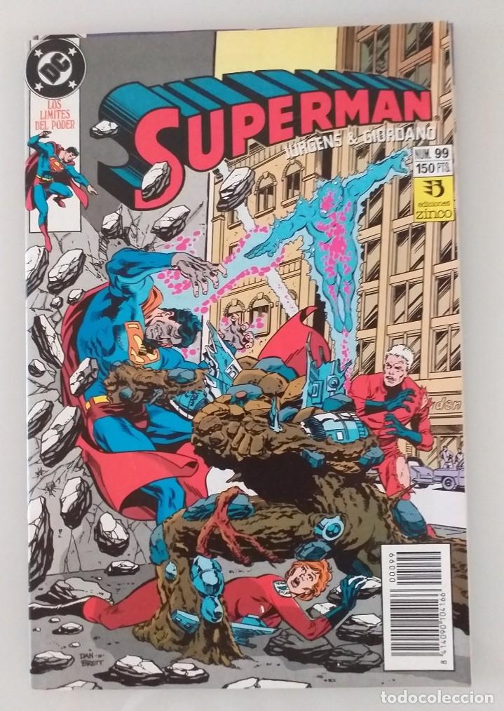 SUPERMAN EDICIONES ZINCO. NÚMERO 99 (Tebeos y Comics - Zinco - Superman)