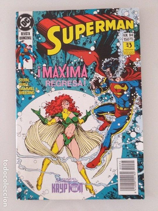 SUPERMAN EDICIONES ZINCO. NÚMERO 94 (Tebeos y Comics - Zinco - Superman)