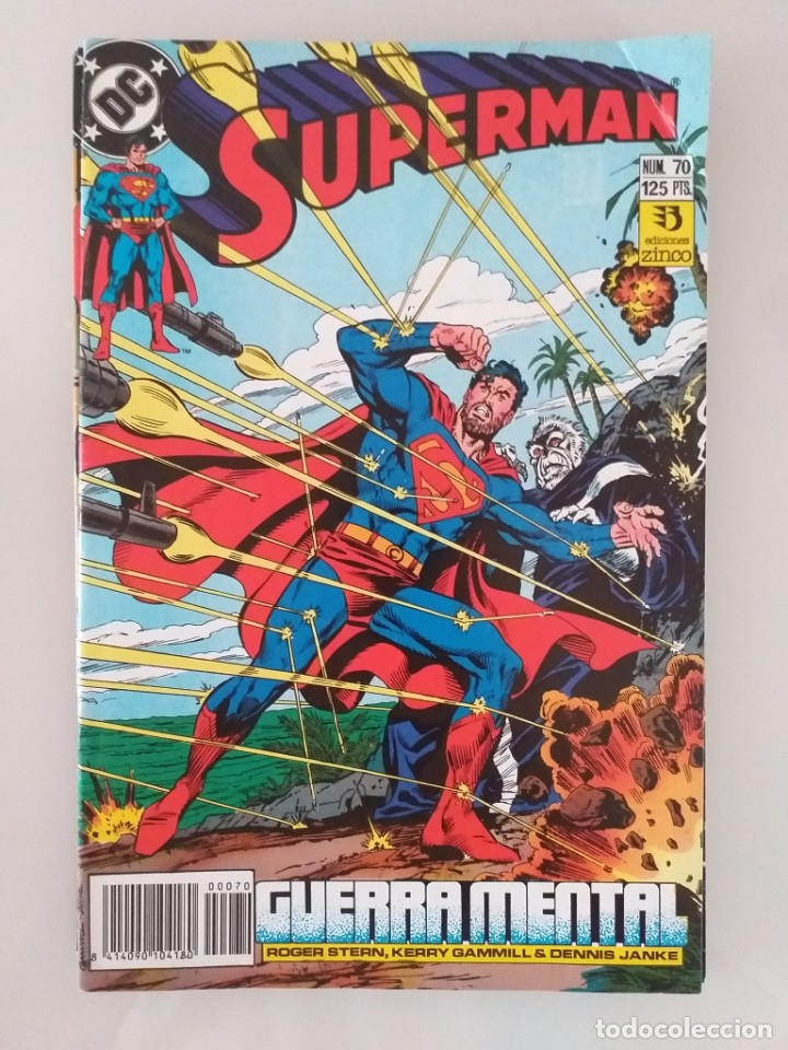 SUPERMAN EDICIONES ZINCO. NÚMERO 70 (Tebeos y Comics - Zinco - Superman)