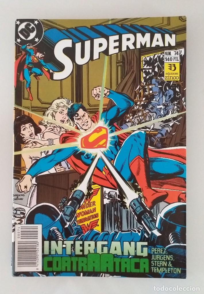 SUPERMAN EDICIONES ZINCO. NÚMERO 74 (Tebeos y Comics - Zinco - Superman)
