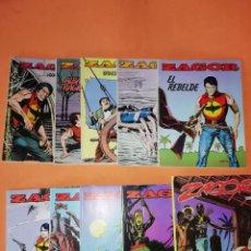 Cómics: ZAGOR .NUMEROS DEL 2 AL 11. EDICIONES ZINCO 1982. BUEN ESTADO GENERAL.. Lote 180247072