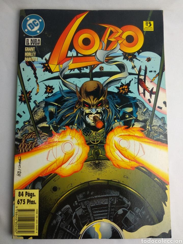 COMIC LOBO EL DUELO (Tebeos y Comics - Zinco - Lobo)