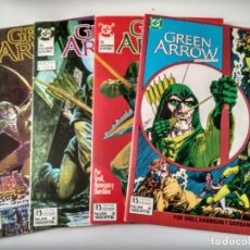 Comics: GREEN ARROW. EL CAZADOR ACECHA. NÚMEROS 1 2 3 Y 4. Lote 180322508