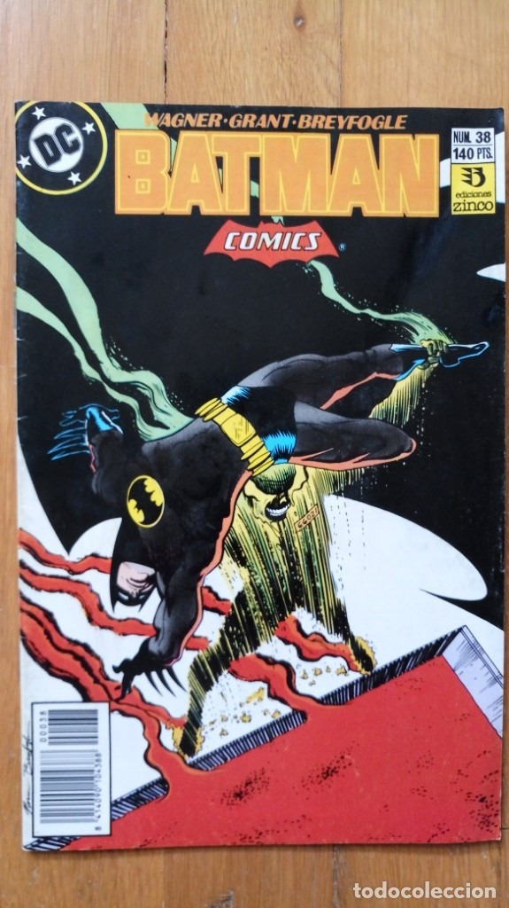 BATMAN 38 (Tebeos y Comics - Zinco - Batman)