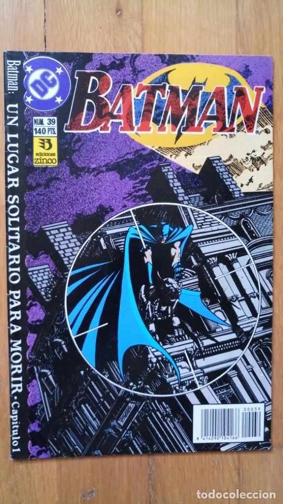 BATMAN 39 (Tebeos y Comics - Zinco - Batman)